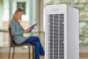 Air purifier at home