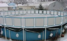 can above ground pools be heated
