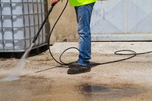 Can A Pressure Washer Damage Concrete?