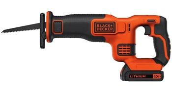 Black + Decker 20v Max Reciprocating Saw