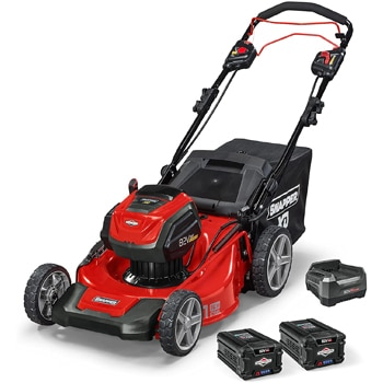 SNAPPER CORDLESS ELECTRIC SELF-PROPELLED LAWN MOWER