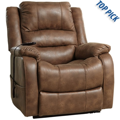 BEST OVERALL LEATHER RECLINING CHAIR