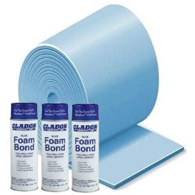 Gladon 15 Feet X 30 Feet Oval Above Ground Premium Pool Wall Foam Kit
