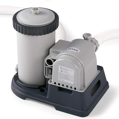 INTEX KRYSTAL CLEAR CARTRIDGE FILTER PUMP FOR ABOVE GROUND POOLS