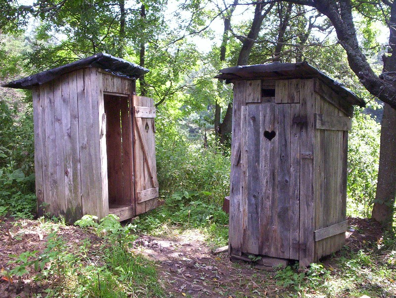 Why Did Toilets Used to be Outside?