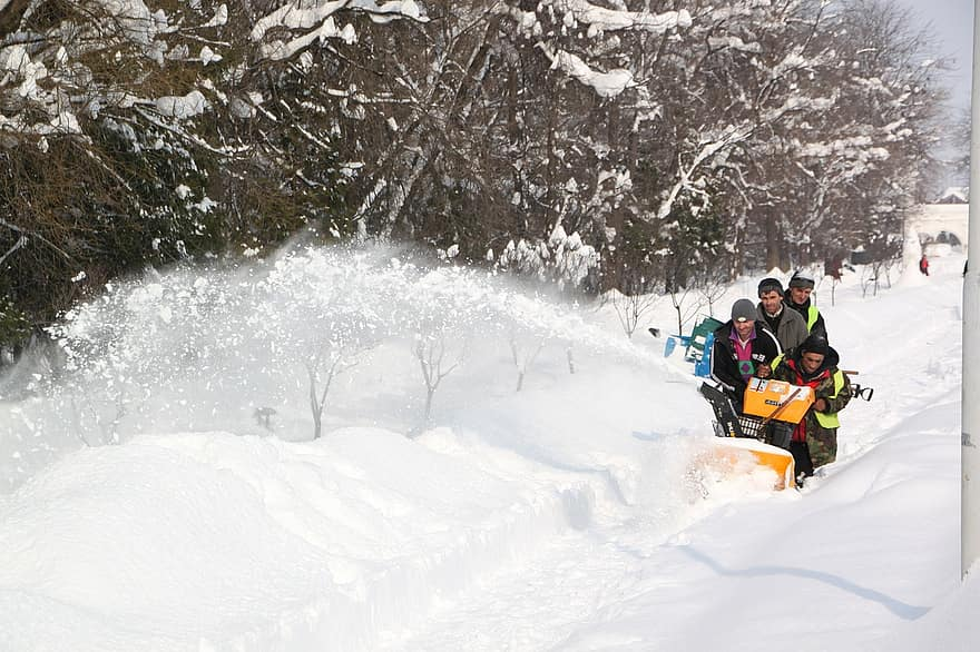 What Are Snow Blower Stages?
