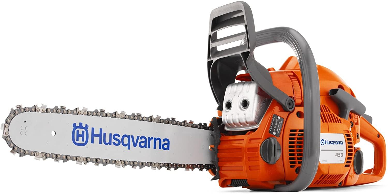 Husqvarna 450 18-Inch Gas Powered Chain Saw