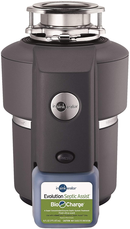 InSinkErator Evolution Septic Assist 3/4 HP