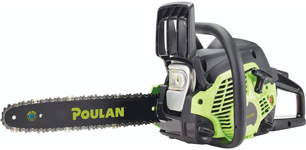 Poulan PL3314 14in Gas- Powered Chainsaw