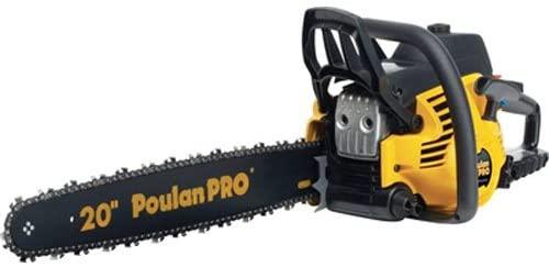 Poulan Pro PP5020AV 20-Inch 50cc Gas Powered Chain Saw