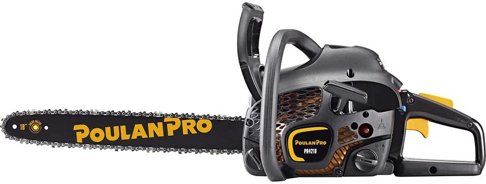 Poulan Pro PR4218, 18 in. 42cc 2-Cycle Gas Chainsaw