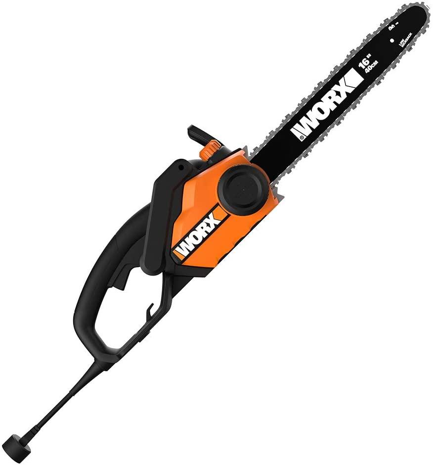 Worx WG303.1 16-inch Corded Electric Chainsaw