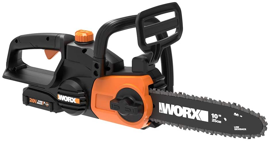 Worx WG322 20V Power Share Cordless 10-inch Chainsaw