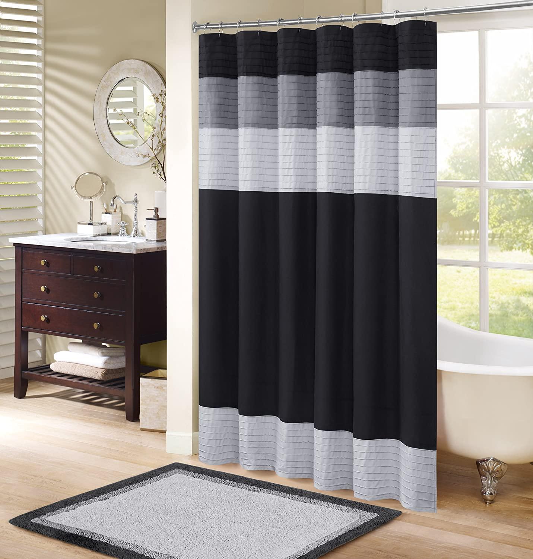Comfort Spaces Windsor bathroom shower curtains