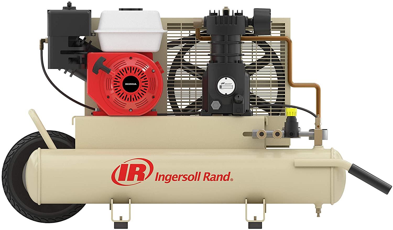 INGERSOLL-RAND GAS POWERED AIR COMPRESSOR SS3J5.5GH-WB