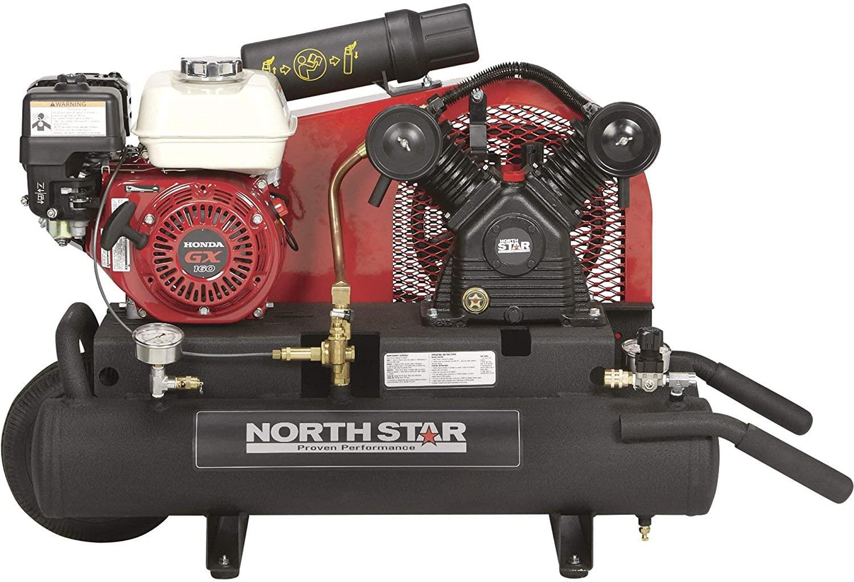 NorthStar Gas-Powered Air Compressor Honda GX160 OHV Engine