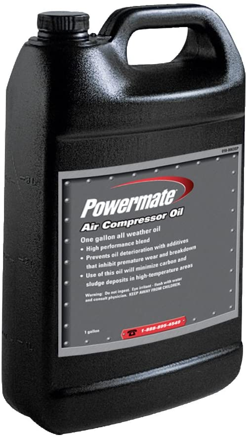 PowerMate Vx 0180063SP 1 gallon All Weather Air Compressor Oil