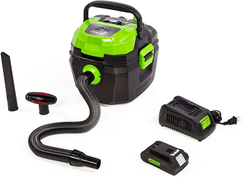 Greenworks 24V wet/ dry shop vacuum