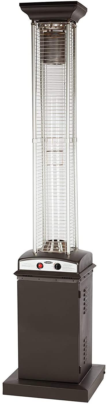 Golden Flame Square Commercial Patio Heater