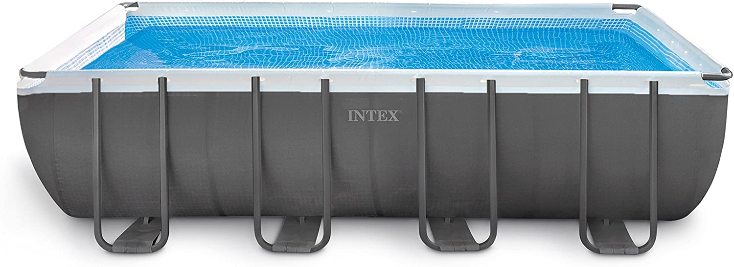 Intex 18ft X 9ft X 52in Ultra Frame Rectangular Pool