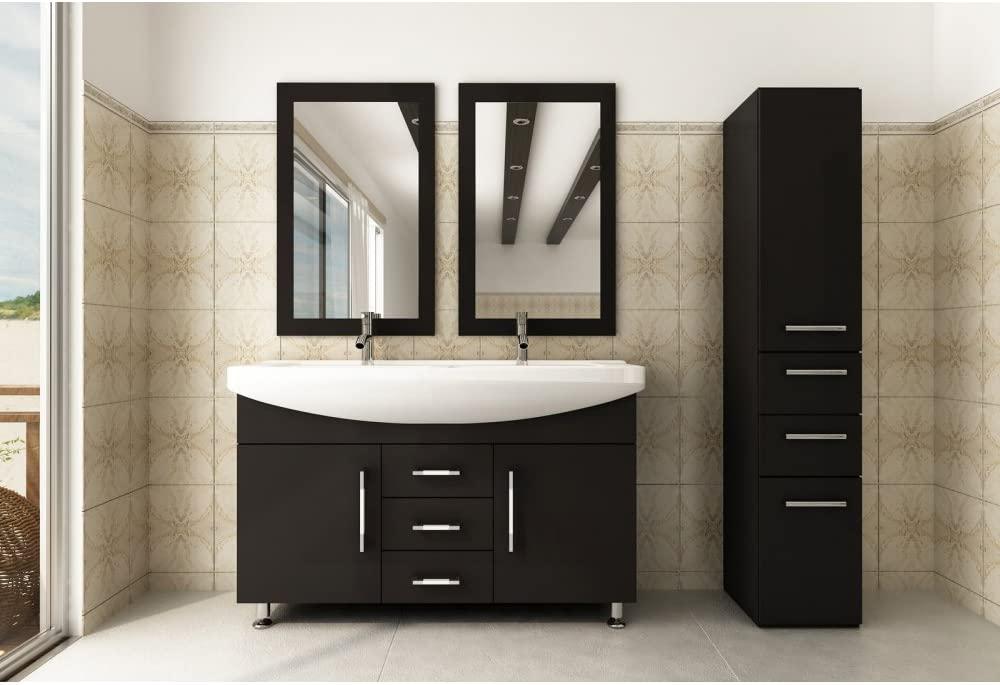JWH Living Celine Double Bathroom Vanity
