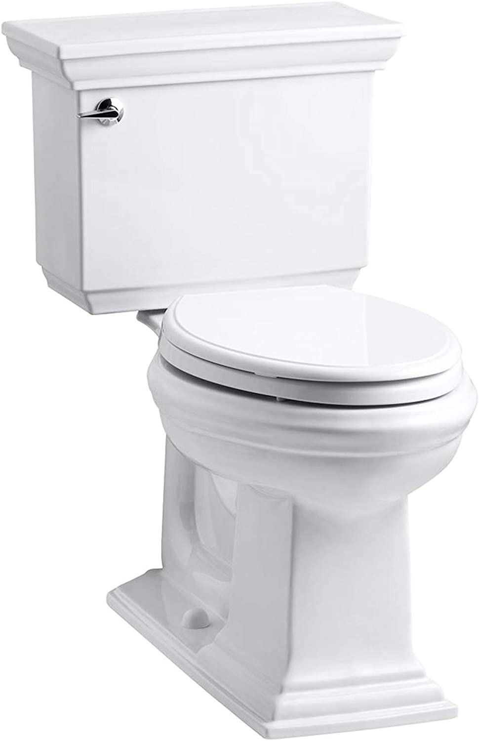 KOHLER K-3817-0 Memoirs Stately Comfort Height Toilet