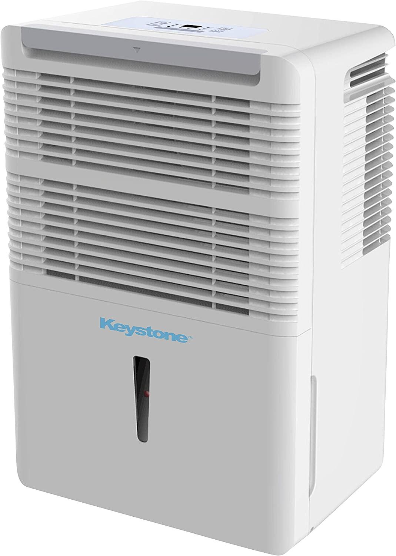 Keystone 35 Pint Dehumidifier with Electronic Controls