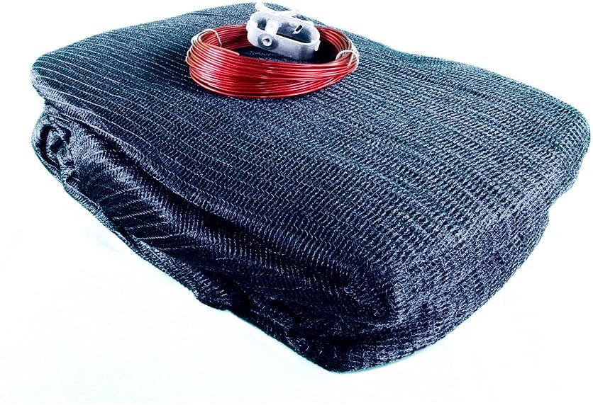 SMOPS Leaf Net Cover for 28-Foot Round Above-Ground Swimming Pools