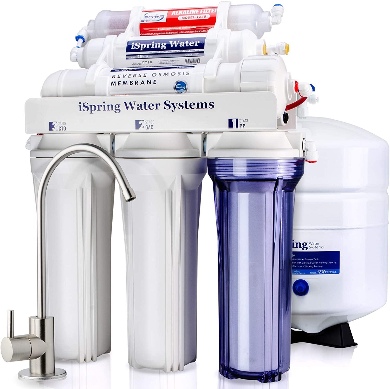 iSpring RCC Reverse Osmosis 5-Stage Water Softner Filter