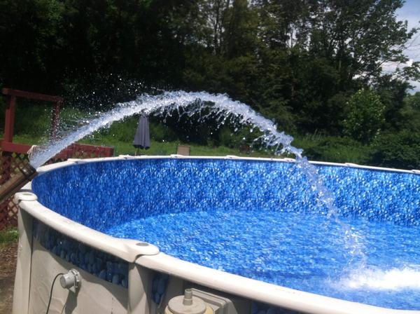 How Much to Fill Above Ground Pool