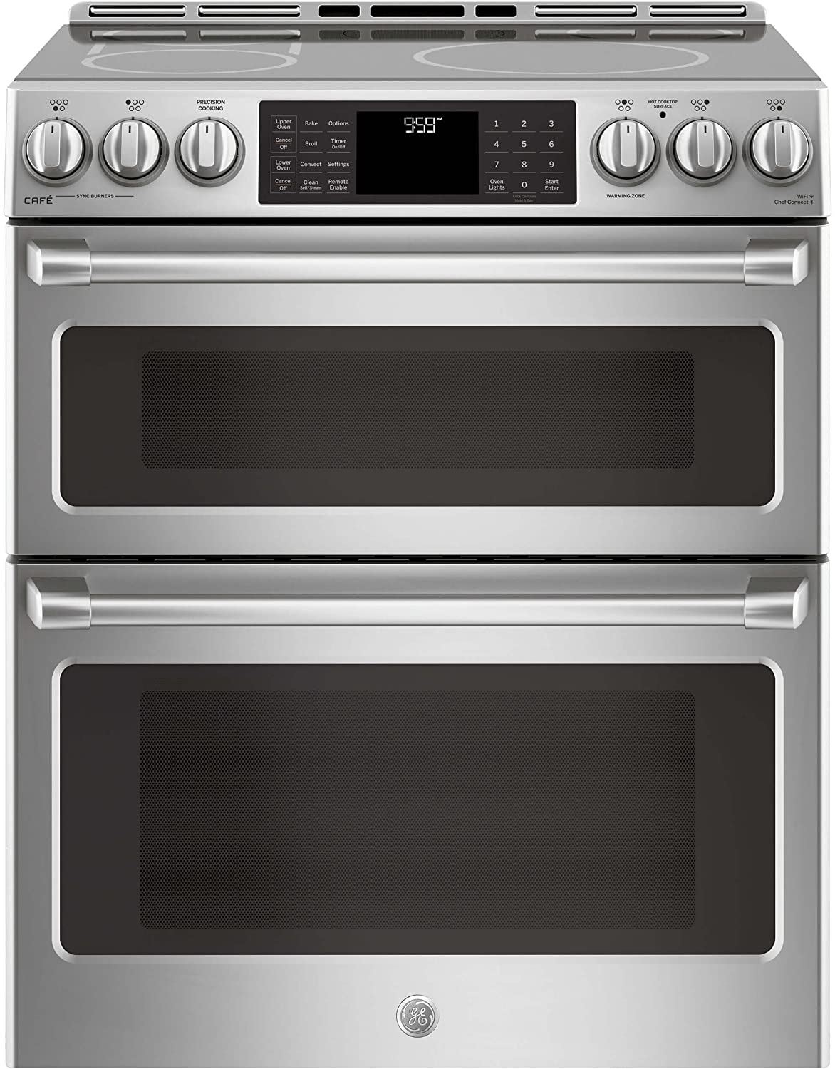 GE Cafe CHS995SELSS 30 Inch Slide-in Electric Range