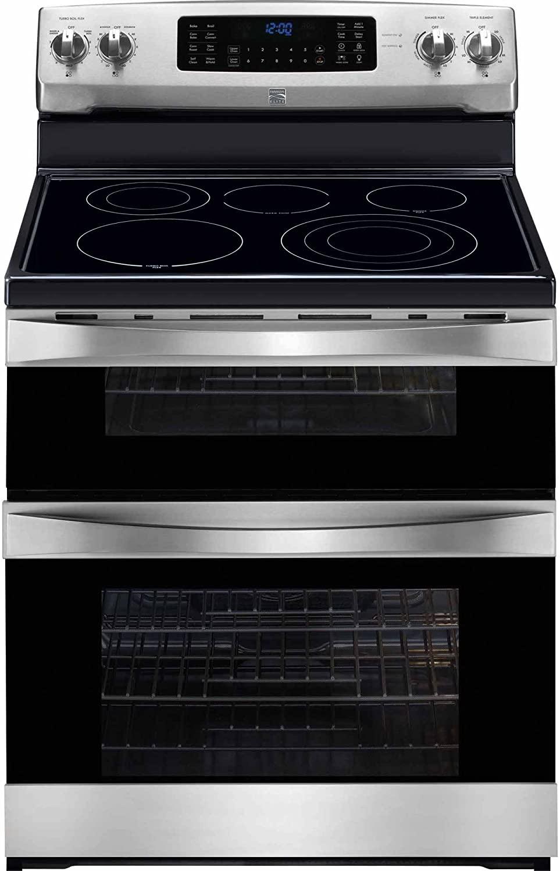 Kenmore Elite 97313 6.9 cu. ft. Self Clean Electric Double Oven Range