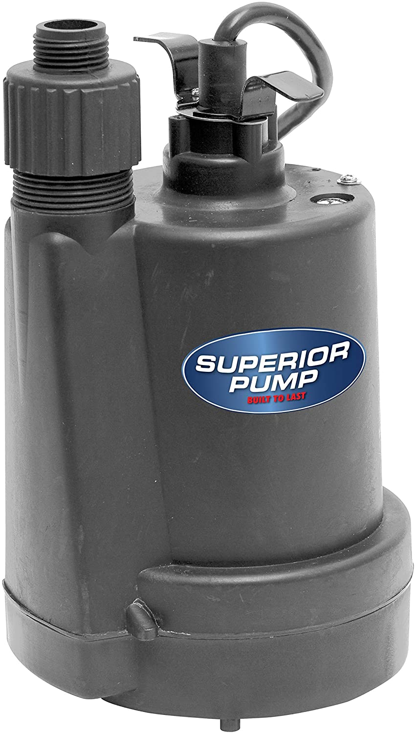 Superior Pump 91250 1/4 HP Thermoplastic Utility Pump
