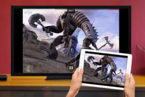 Photo of ipad and smart tv