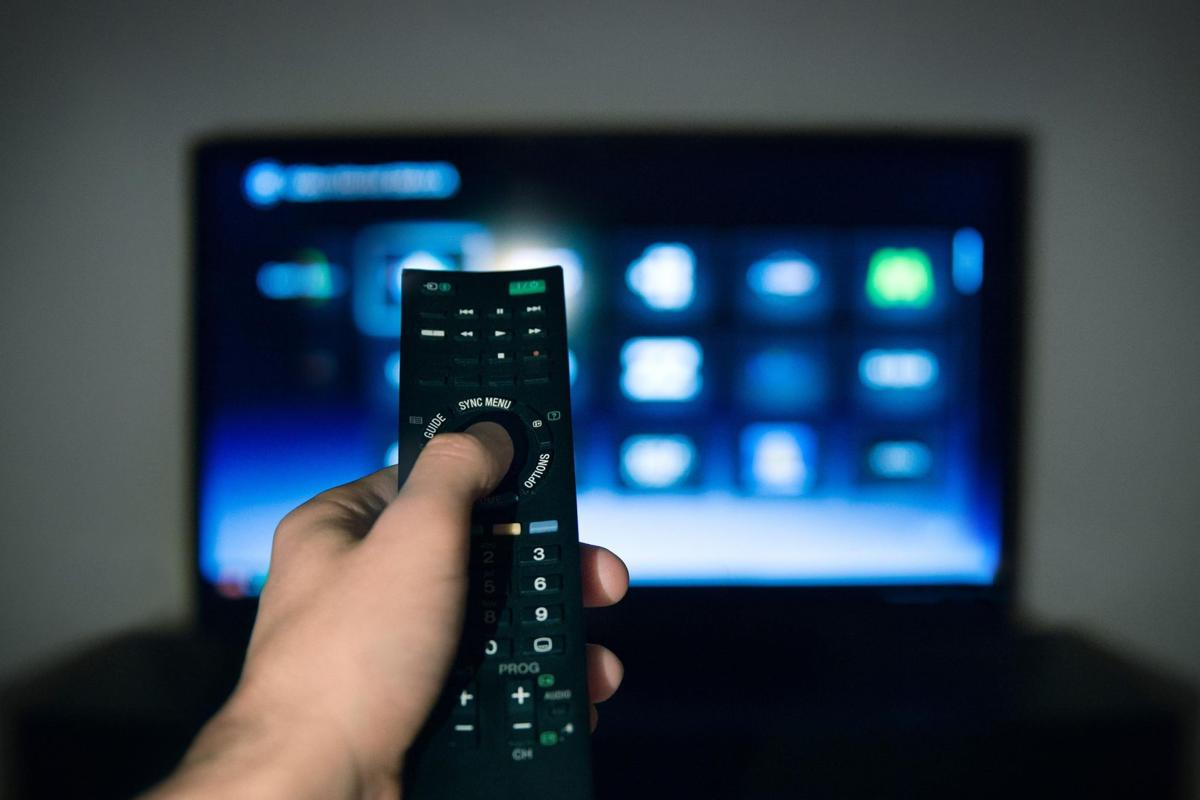 Photo of remote and tv