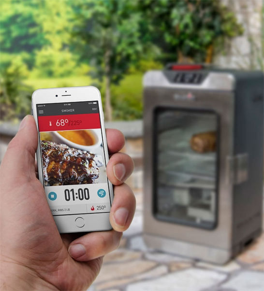 Photo of cellphone have a timer with smart electric smokers
