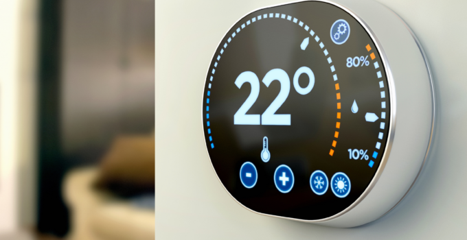 Photo of smart home thermostats