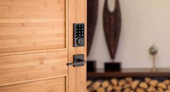 Photo of Rogers Smart door lock
