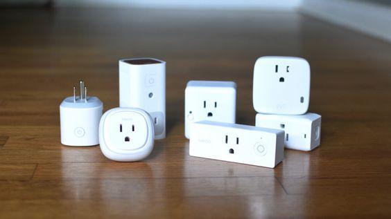 A photo of smart plugs