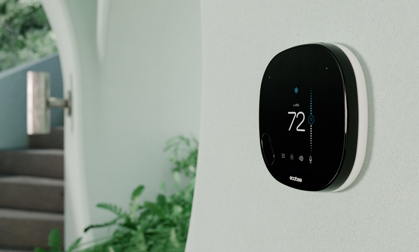 Photo of smart thermostat