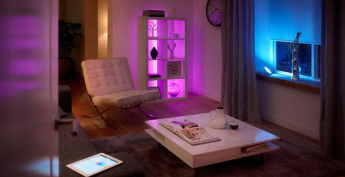 Photo of room have a smart lights
