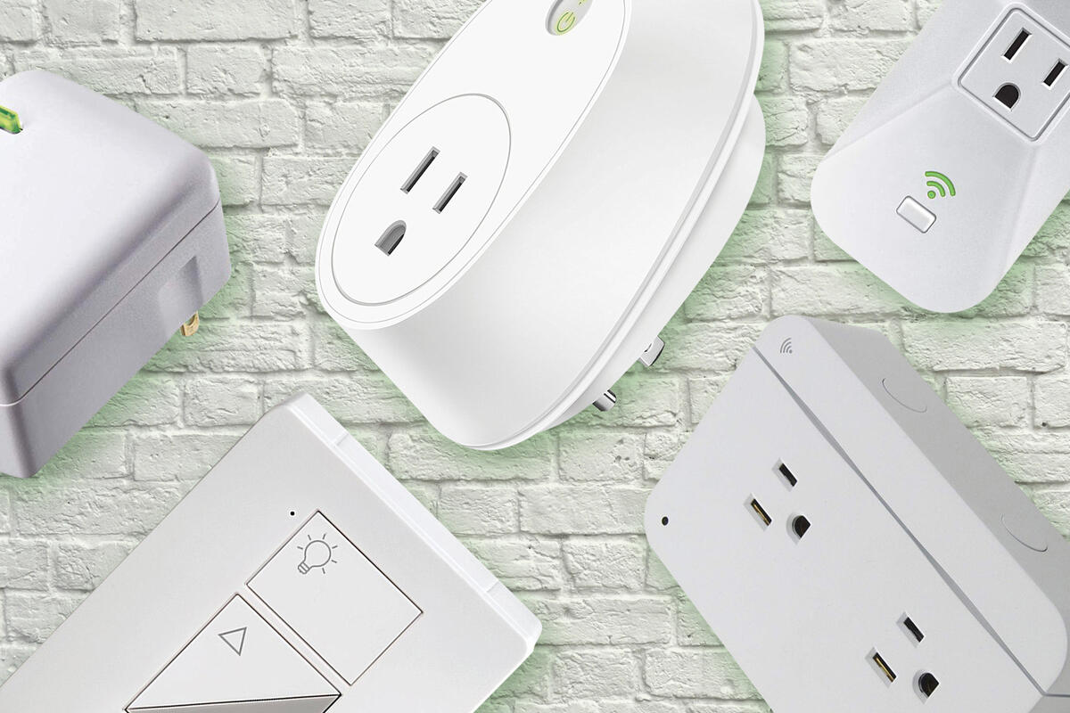 Photo of different smart plugs