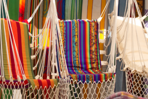 different color of hanging chairs