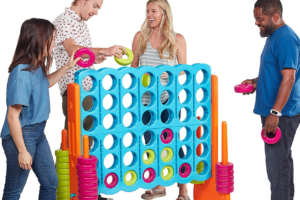 The Three Best Giant Connect Four Lawn Games to Encourage Backyard Fun