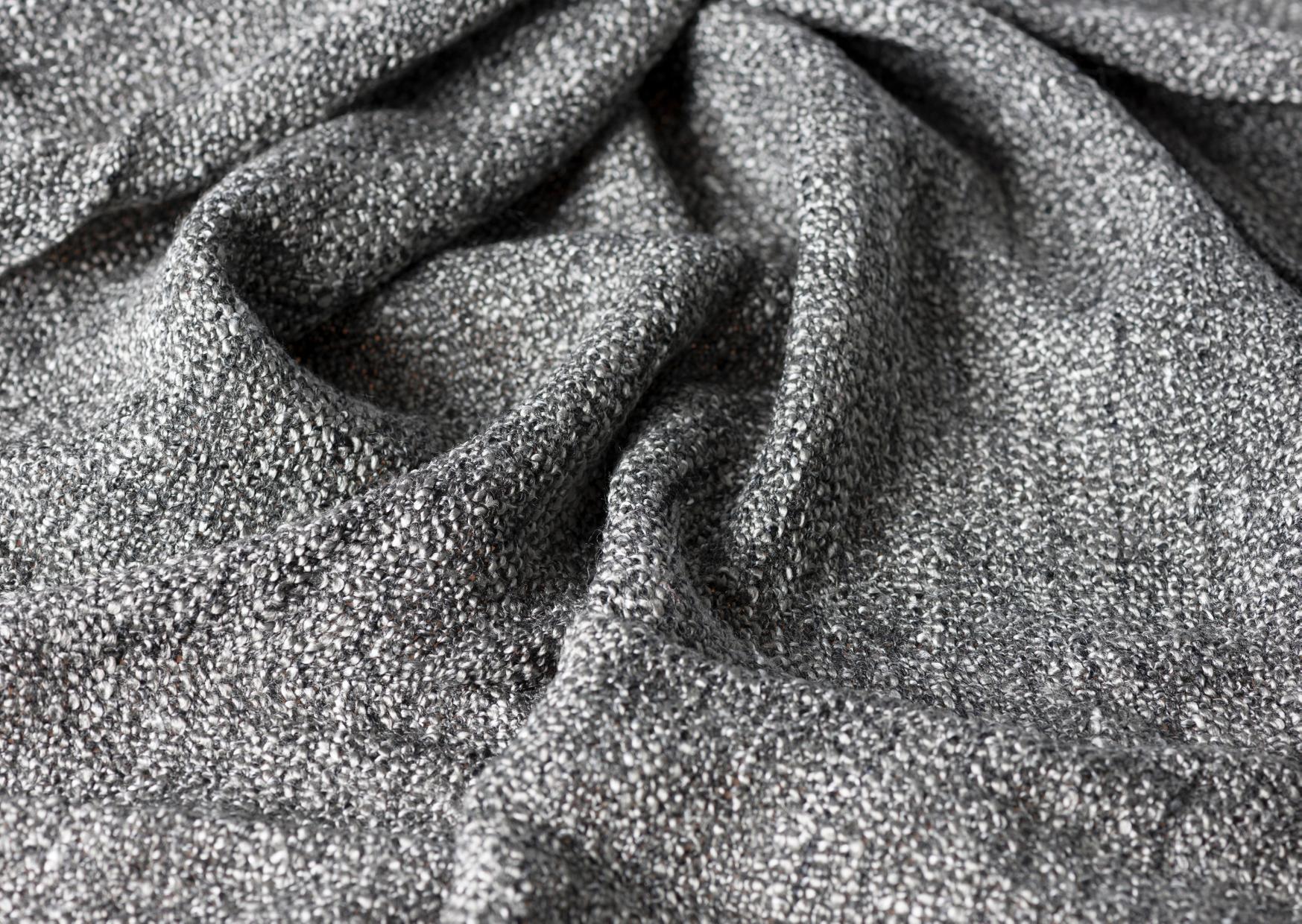 gray fleece blanket