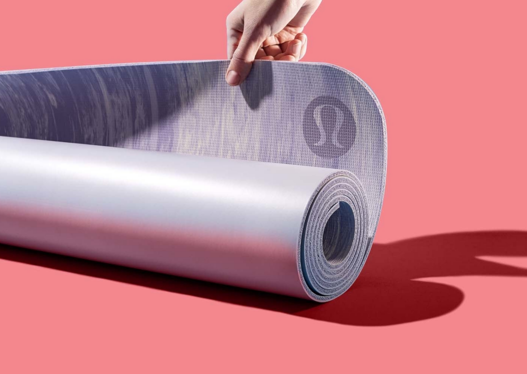 yoga mat of lululemon brand