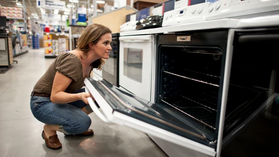 Women buying range