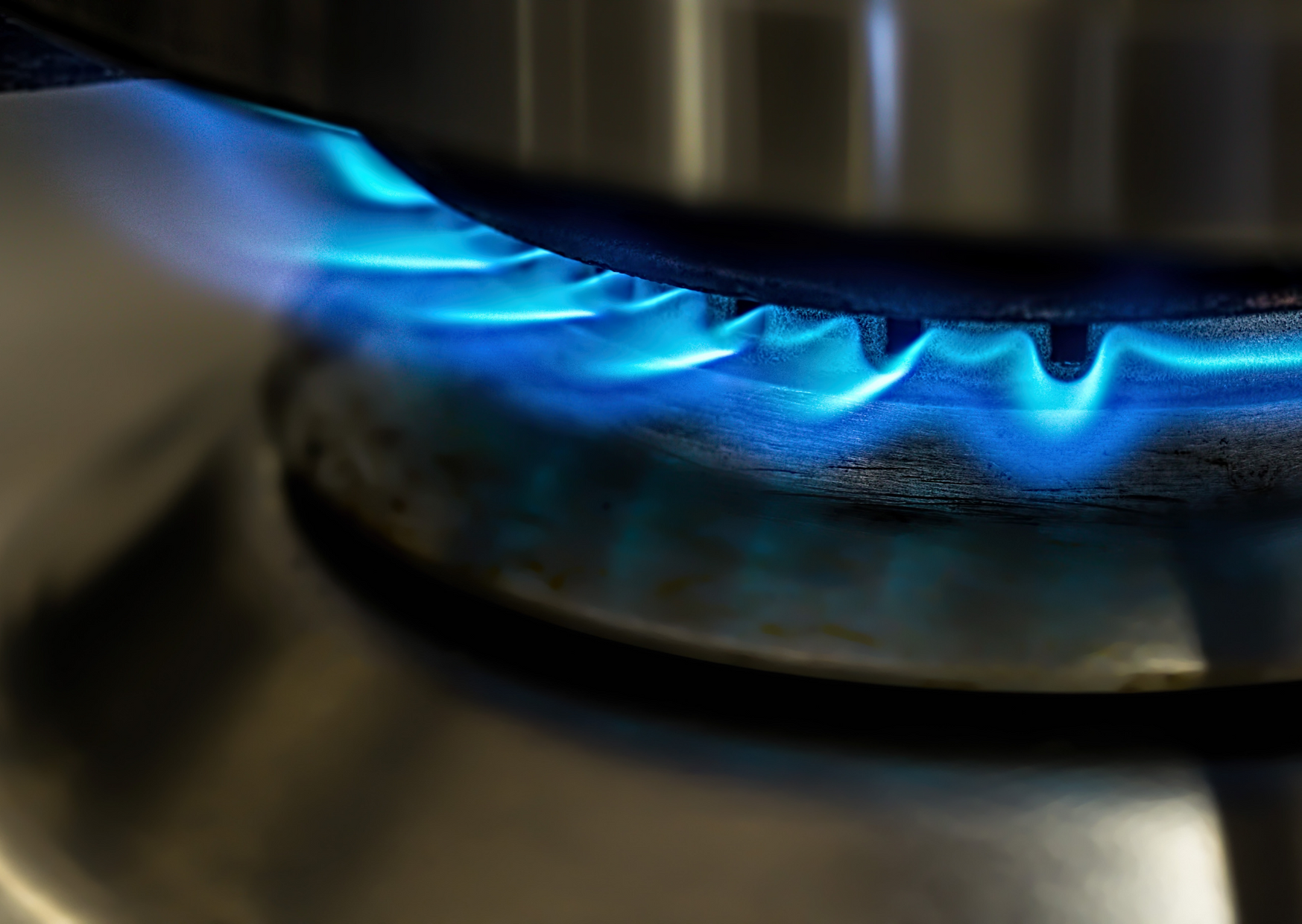 Photo of gas stove burner