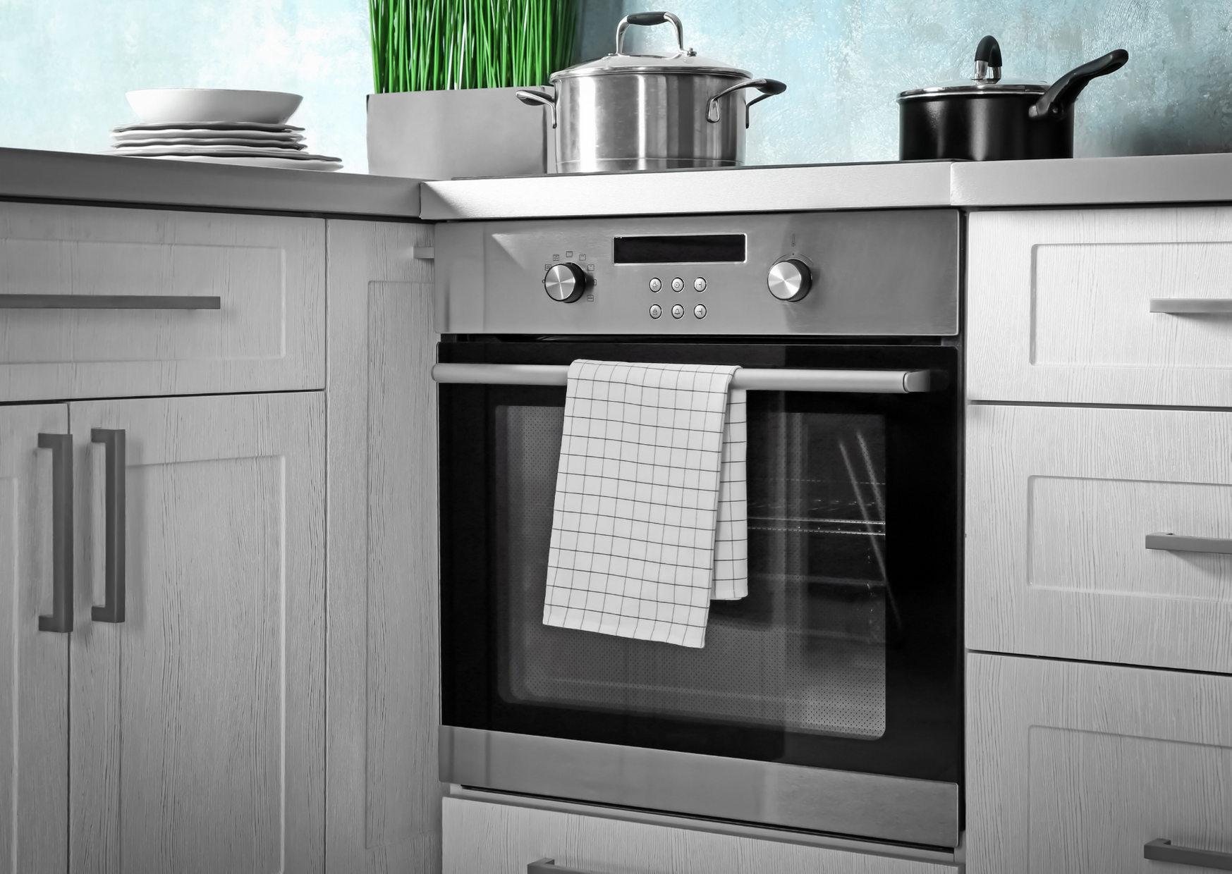 Photo of Gas oven in kitchen