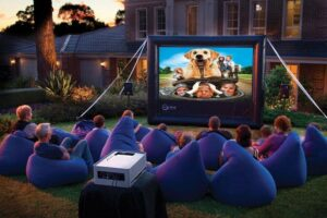 How Many Lumens for an Outdoor Movie Projector?